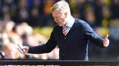 David Moyes' men prop up the Premier League table