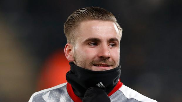 Luke Shaw is back in the Manchester United fold