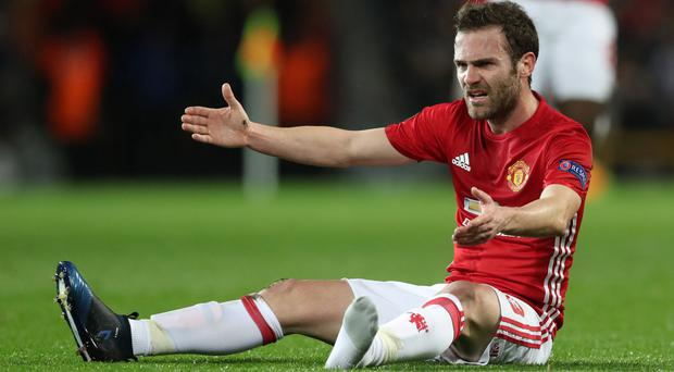 Juan Mata is frustrated to be sidelined