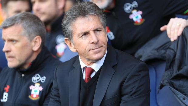 Claude Puel wants his Southampton players to be more clinical in front of goal