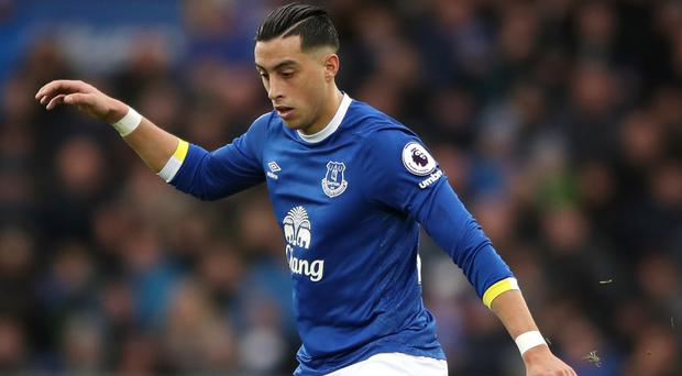 Everton defender Ramiro Funes Mori has had surgery on a knee injury