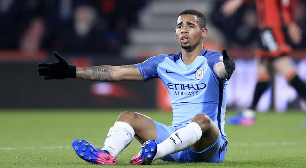 Manchester City's Gabriel Jesus has returned to training after injury