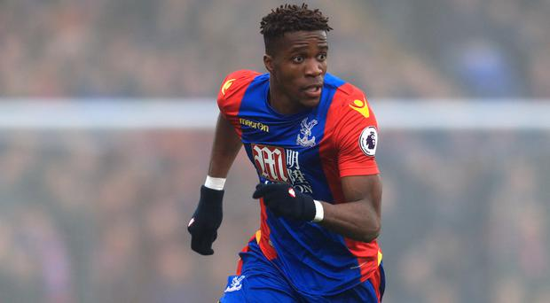 Wilfried Zaha's form has been crucial to Crystal Palace's recent resurgence