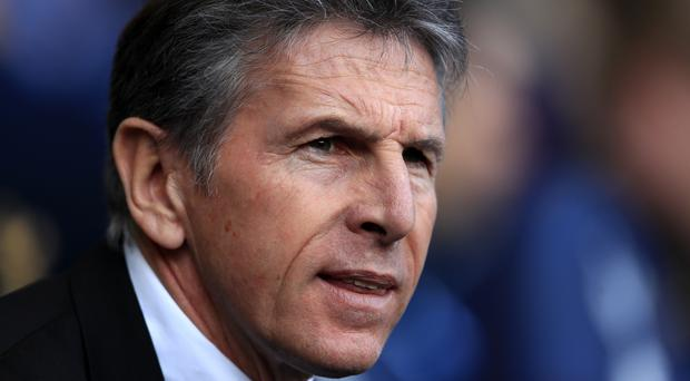 Claude Puel, pictured, does not want to put Jay Rodriguez and Shane Long under pressure to score goals