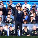 Antonio Conte's Chelsea are favourites for the title