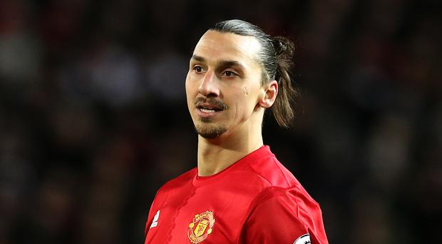 Zlatan Ibrahimovic is out of contract at Manchester United in the summer