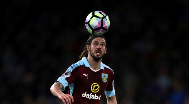 George Boyd netted the winner for Burnley