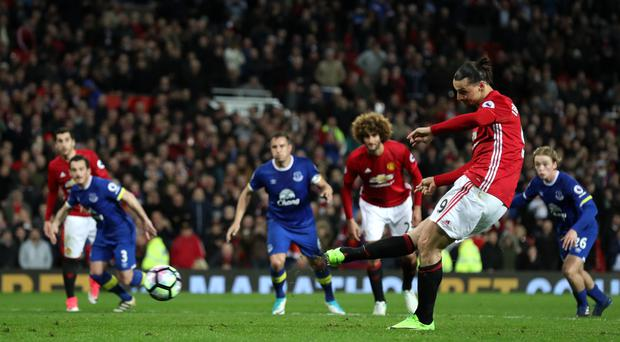 Zlatan Ibrahimovic scored after having one disallowed