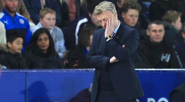 David Moyes suffered another tough day