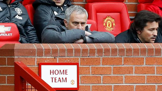 Jose Mourinho is taking time to find his feet at Manchester United as he looks to bounce back from his sacking at Chelsea last season