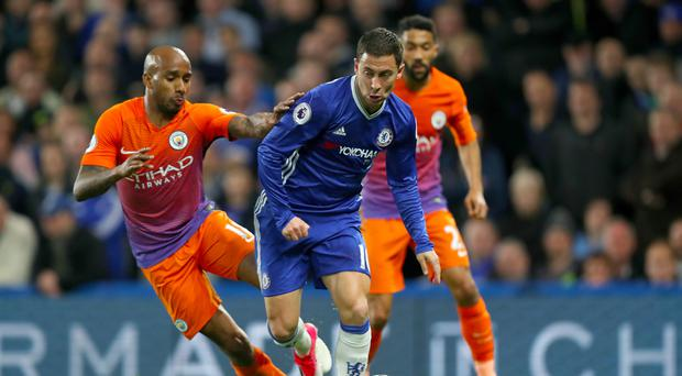 Chelsea's Eden Hazard was the star of the show