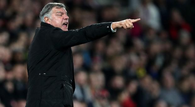 Crystal Palace manager Sam Allardyce saw his side lose at Southampton