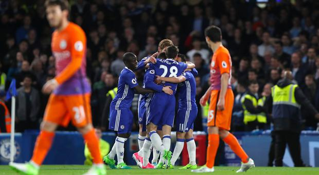 Chelsea bounced back from their weekend defeat with a vital win over Manchester City