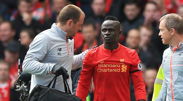 Liverpool's Sadio Mane is out for the season