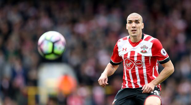 Oriol Romeu is serving a two-match ban for Southampton