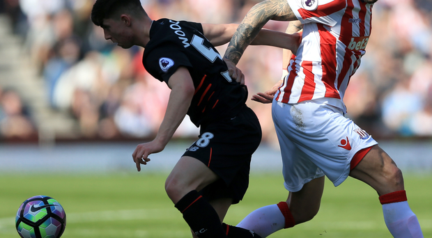 Teenager Ben Woodburn started for Liverpool in the clash at the bet365 Stadium