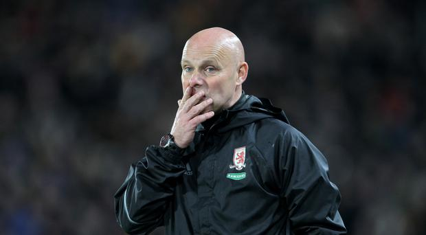 Interim Middlesbrough head coach Steve Agnew was frustrated after a 0-0 draw with Burnley