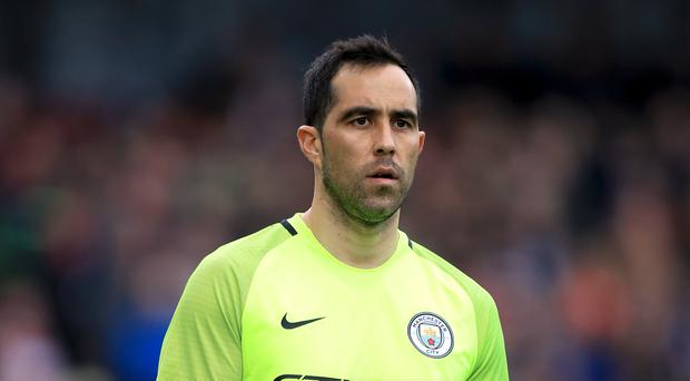 Manchester City goalkeeper Claudio Bravo made another error against Hull
