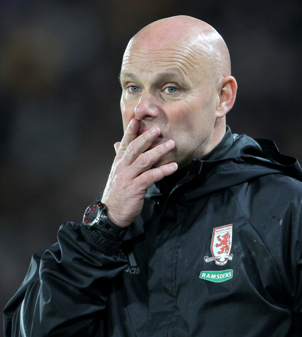 Interim Middlesbrough head coach Steve Agnew was frustrated after a 0-0 draw with Burnley.