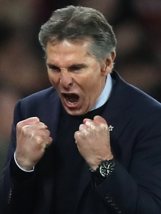 Southampton boss Claude Puel wants his side to continue a good run until the end of the season after yesterday's win.