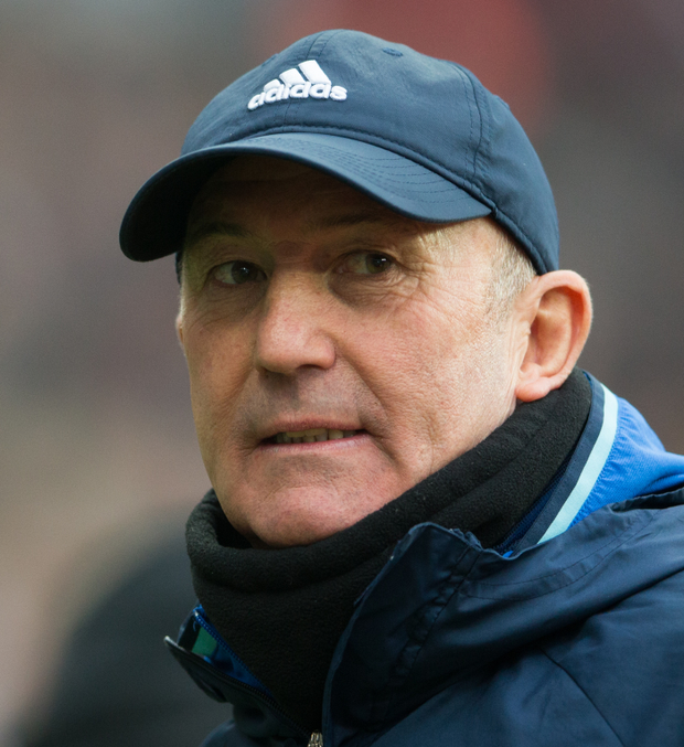 Tony Pulis will be disappointed with the home defeat.