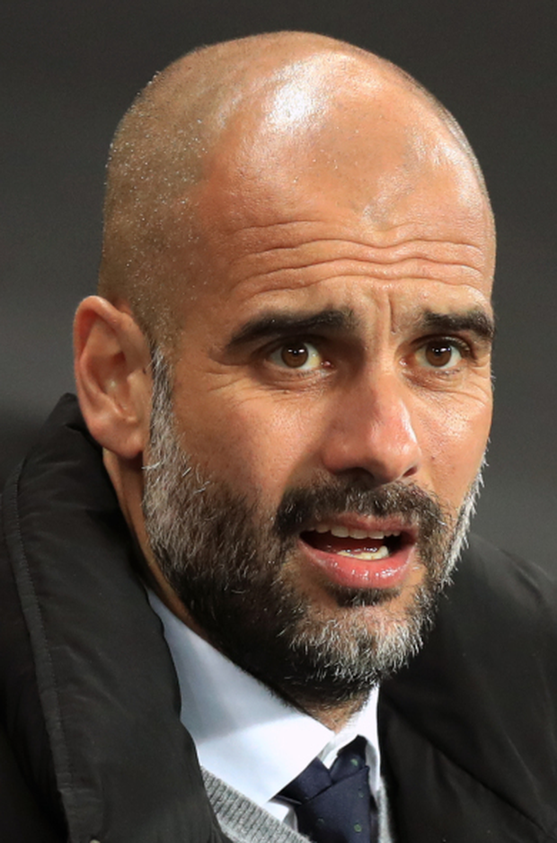 Man City boss Pep Guardiola has defended Claudio Bravo and still believes he is a world-class goalkeeper. Photo: PA