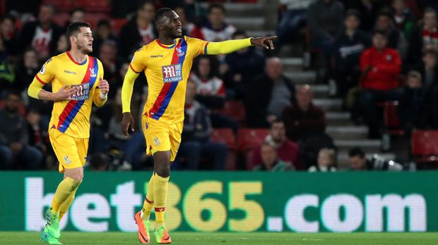 Christian Benteke, right, will be integral to their Premier League survival bid, according to manager Sam Allardyce