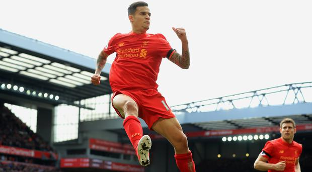 Liverpool's Philippe Coutinho has set his sights on scoring more goals