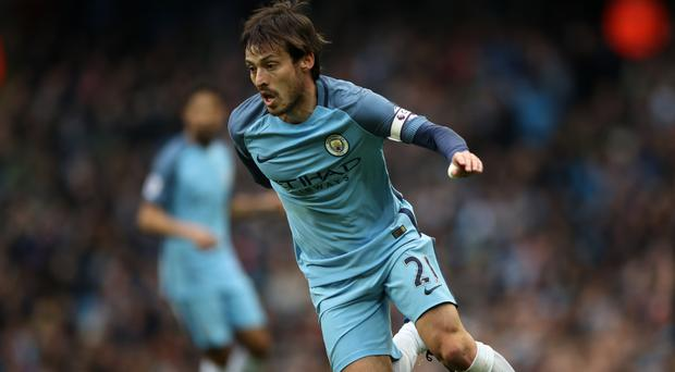 David Silva has played 300 games for Manchester City