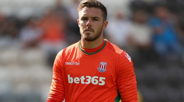 Jack Butland has not made a competitive appearance since March 2016