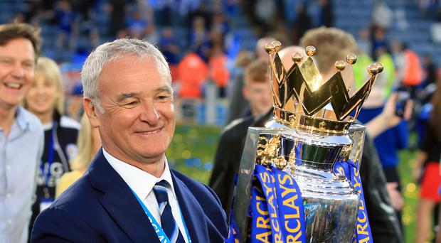 Claudio Ranieri won the title in May but was sacked the following February