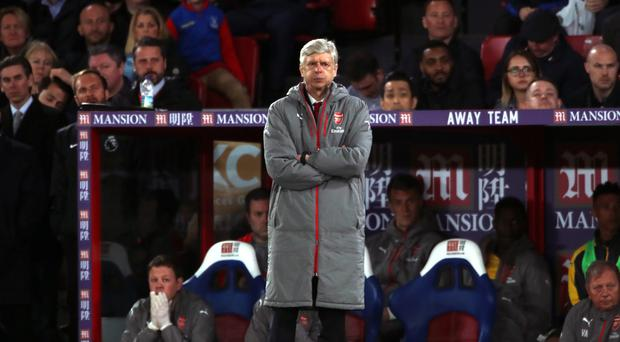 Arsene Wenger's Arsenal were humbled 3-0 by Crystal Palace on Monday night