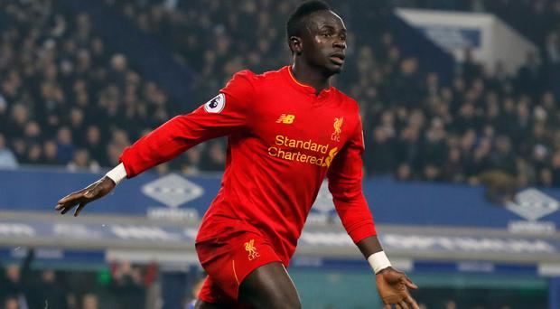 Liverpool forward Sadio Mane is recovering from a knee operation