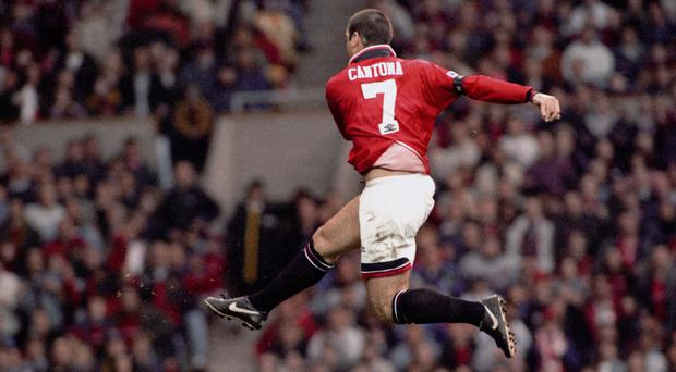 Eric Cantona was the first winner of the PFA player of the year award from outside the UK and Ireland