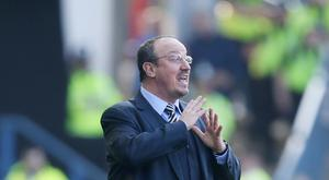 Promotion to the Premier League is the only focus for Newcastle manager Rafael Benitez