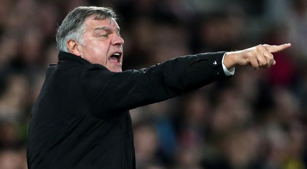 Sam Allardyce's Crystal Palace host Leicester in the Premier League on Saturday