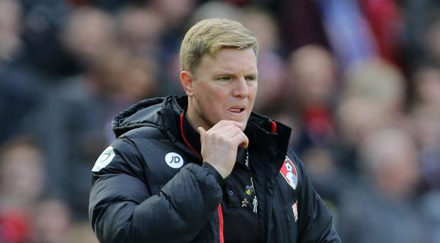 Eddie Howe is expecting a tough test against Tottenham