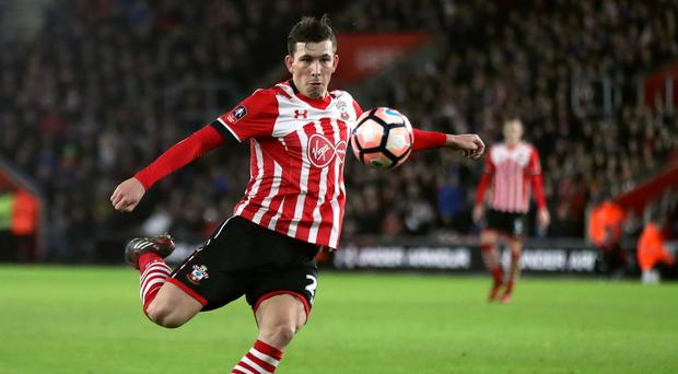 Southampton's Pierre-Emile Hojbjerg impressed Pep Guardiola when they were both at Bayern Munich