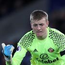 Sunderland's Jordan Pickford has been nominated for the PFA Young Player of the Year award