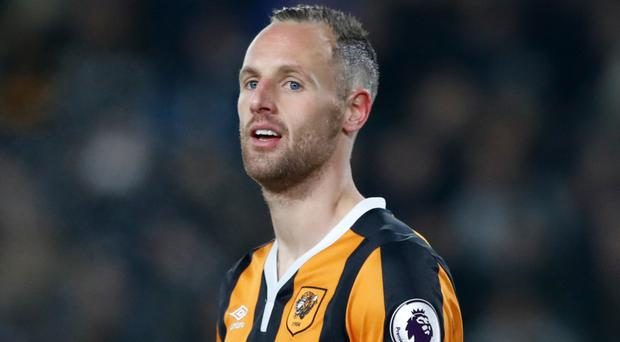 Hull City's David Meyler is out for the remainder of the season. Photo: PA