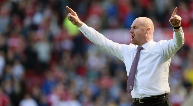Burnley manager Sean Dyche is not concerned about ending the Premier League season without an away win