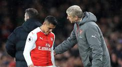 Arsenal manager Arsene Wenger, right, brought Alexis Sanchez to England in 2014