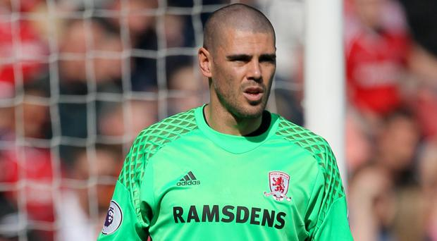 Victor Valdes is bringing his winning mentality to Middlesbrough's fight for Premier League survival