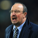 Benitez is getting frustrated with the consistency of decisions that seem to be going against his side. Photo: PA News
