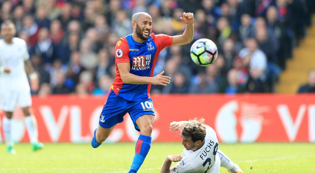 Crystal Palace's Andros Townsend excelled against Leicester at Selhurst Park