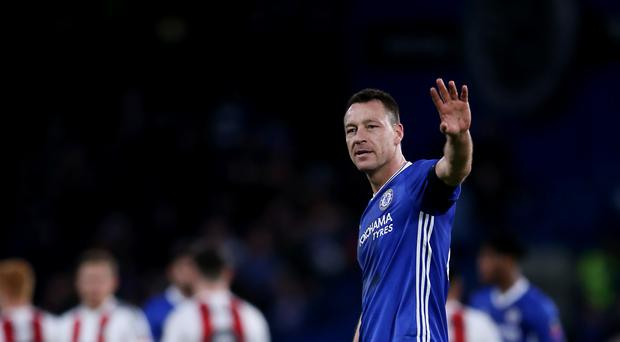 Chelsea captain John Terry has made only 10 appearances so far this season.