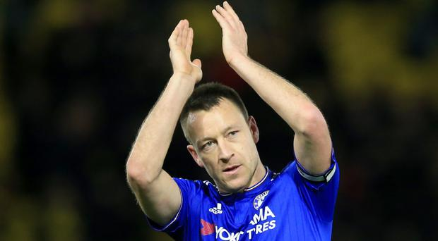 Chelsea's John Terry will be leaving the club at the end of the season