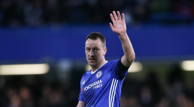 John Terry will say goodbye to Chelsea at the end of the season