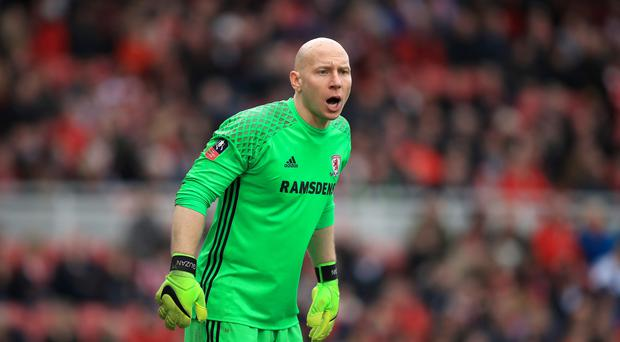 Middlesbrough keeper Brad Guzan is likely to deputise for Victor Valdes once again at Bournemouth