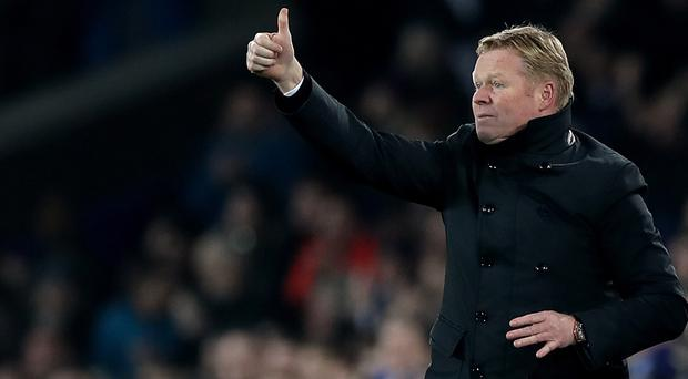 Everton manager Ronald Koeman is comfortable having a small squad despite the demands of Europa League football next season